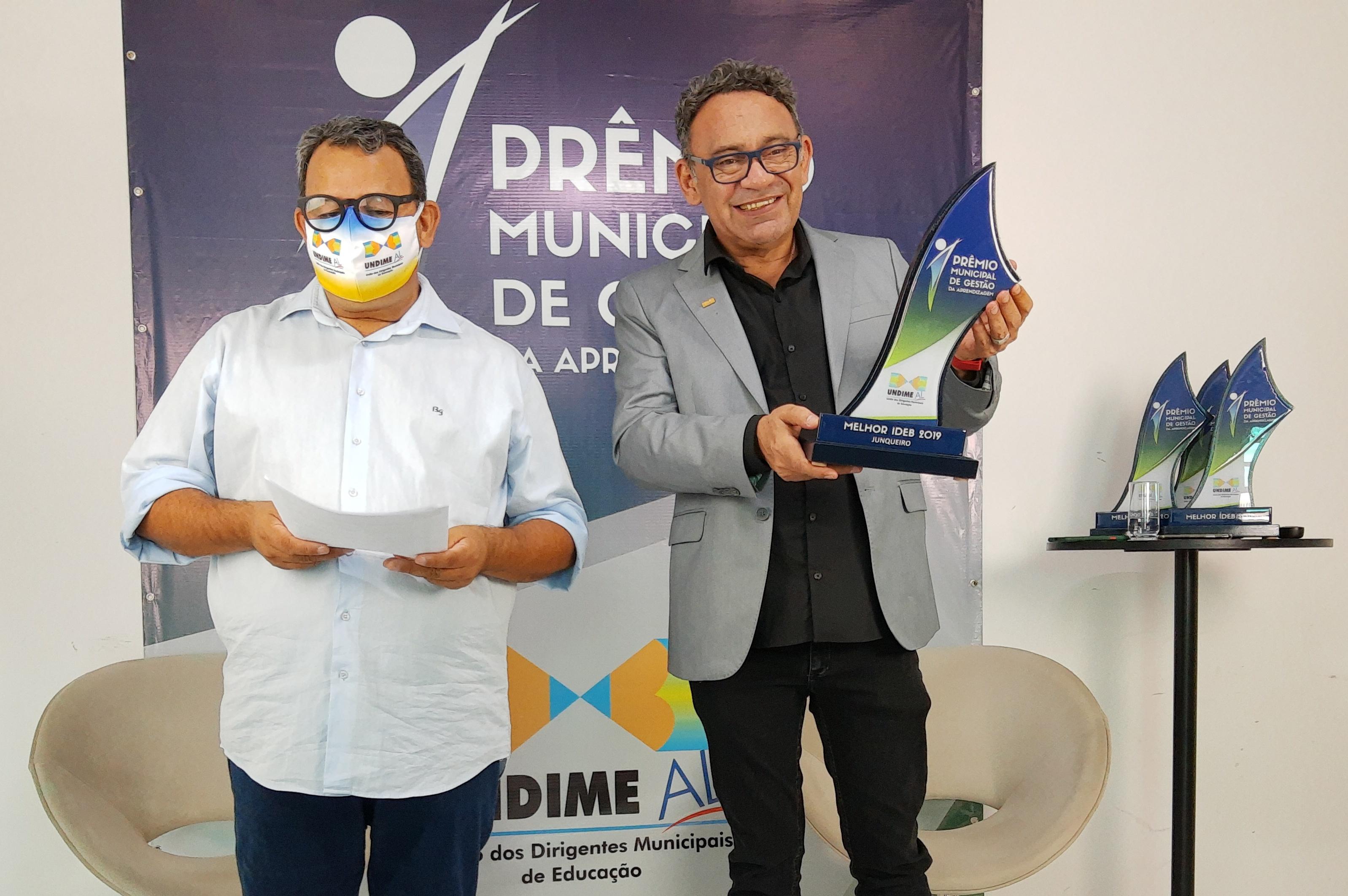 Undime Alagoas entrega Prêmio de Gestão da Aprendizagem para 23 municípios alagoanos