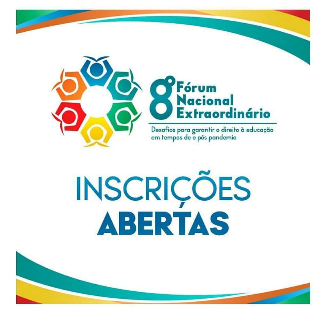 Faça a sua inscrição para o 8º Fórum Nacional Extraordinário dos Dirigentes Municipais de Educação