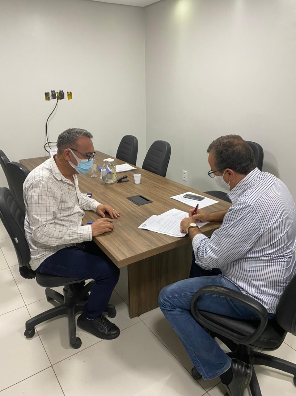 Undime-AL firma novo convênio com o município de Craíbas