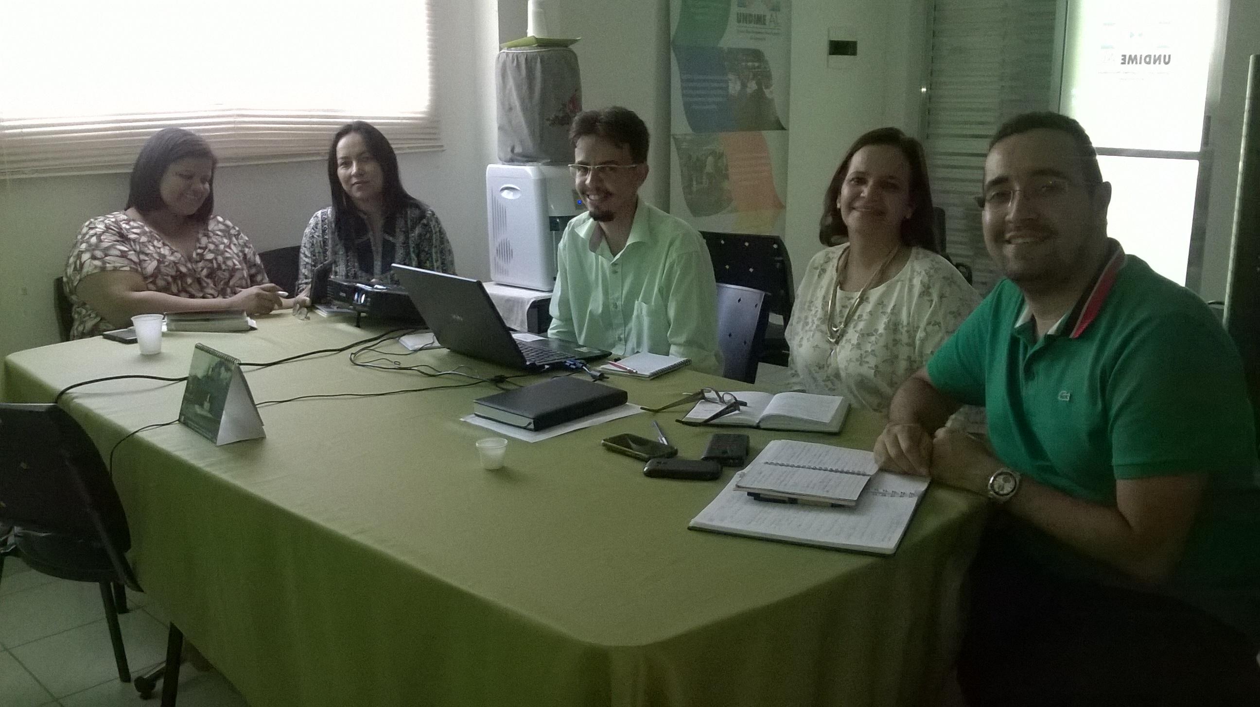 Undime/AL realiza oficina com município de Santana do Mundaú/AL