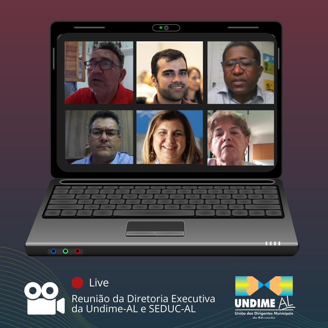 Diretoria executiva da Undime Alagoas realiza reunião de alinhamento com Secretaria de Estado da Educação